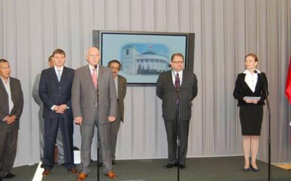 Пресс-конференция в Сейме РП