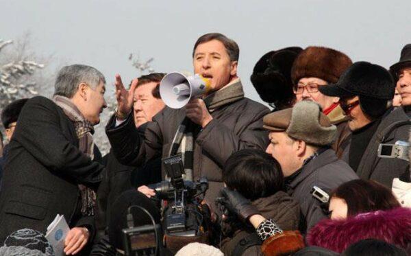 Проведения митинга единственной оппозиционной партии Казахстана было наказано