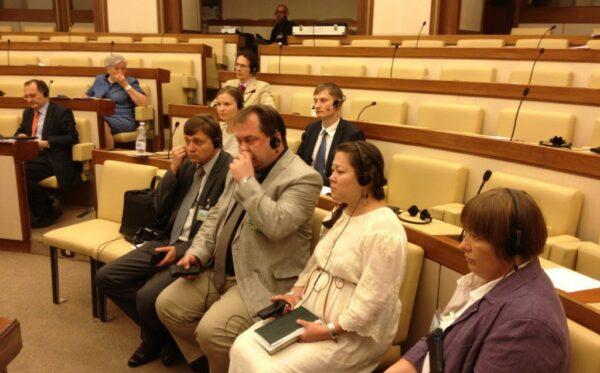 Казахстанская делегация в Риме: слушание в сенате Италии