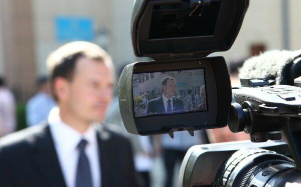 Представители международной миссии наблюдателей за судебным процессом по делу оппозиционеров в г. Актау