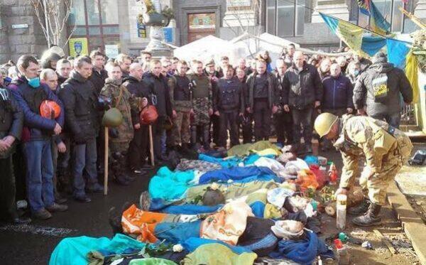 Украина: число погибших и пропавших безвести