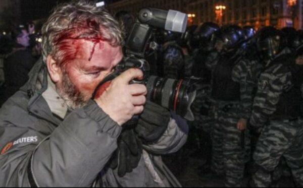 Отчет: Политика уничтожения независимой журналистики в Украине январь-февраль 2014