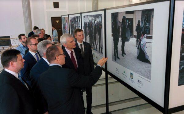 Выставка «Лица Евромайдана» уже открыта