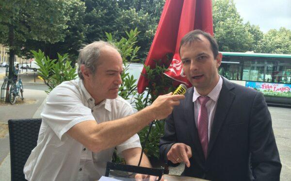 Егор Соболев представил в Париже планы люстрации в Украине