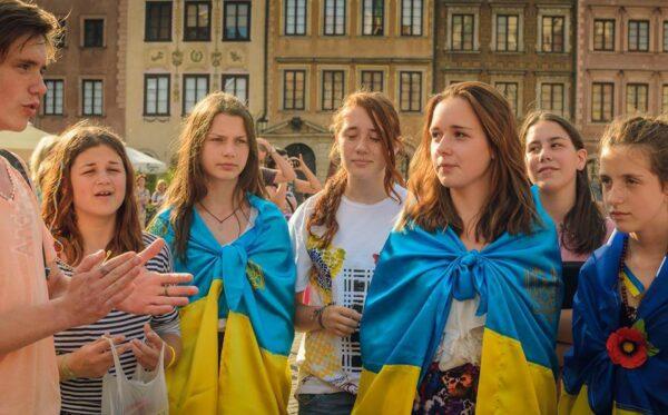Дети активистов Евромайдана из Харькова в «Украинском Мире»