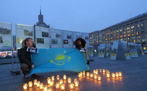 Открытие фотовыставки «Жанаозен – Майдан: хроника расстрелянных протестов»