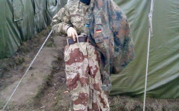 Одежда на фронт