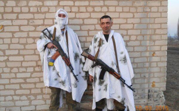 Маскировочные халаты для украинских военных