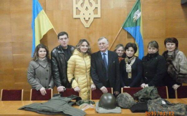 Фронтовой набор предметов первой необходимости для украинских солдат