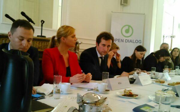 Встреча в Брюсселе, посвященная борьбе с коррупцией, люстрации и реформам в Украине