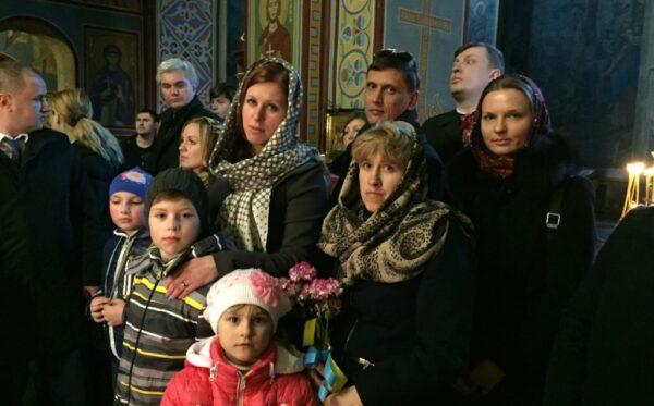 Первые леди Польши и Украины почтили память героев Майдана