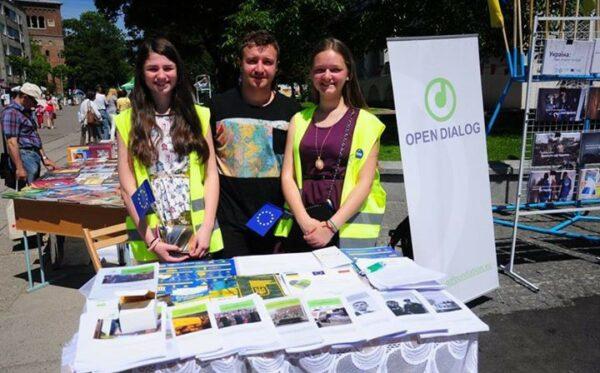 Фундация «Открытый Диалог» приняла участие в Днях Европы в Дрогобыче
