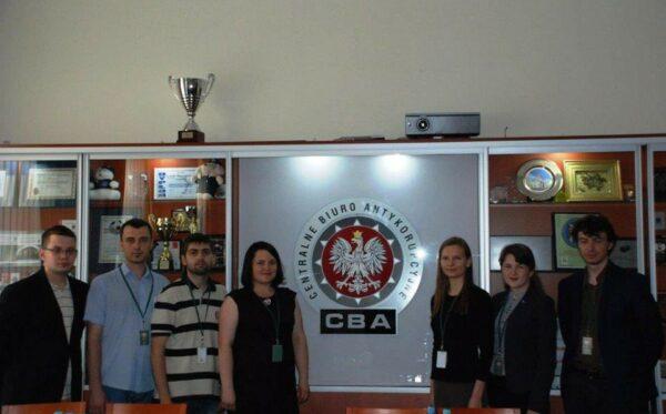 Лидеры украинских неправительственных организаций посетили Варшаву. Визит состоялся в рамках проекта Youth Generation Will Change Ukraine