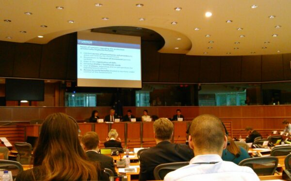 Обмен мнениями в рамках встречи подкомитета по правам человека Европейского парламента (DROI) о ситуации прав человека в Украине в районах, охваченных конфликтом