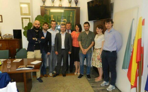 Молодые украинские реформаторы в Варшаве