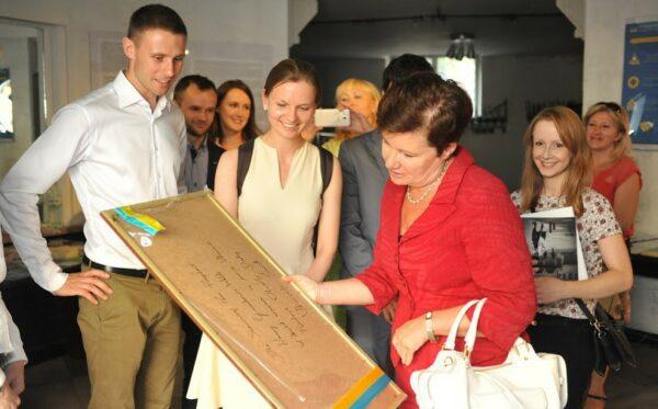 Мэр Варшавы посетила «Украинский мир»