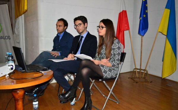 О беженцах с итальянской точки зрения. Фундация «Открытый Диалог» принимала студентов из Италии