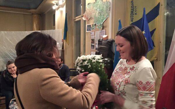 Герои новой Украины. Встреча с Викторией Дворецкой
