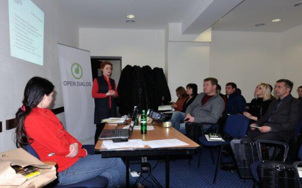 В Запорожье состоялся семинар «Люстрация: почему это необходимо»