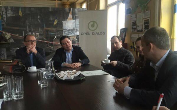 Польско-украинское сотрудничество в медицинской сфере. Встреча в «Украинском мире»