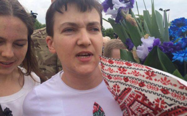Надежда Савченко на свободе! Отчет Фундации «Открытый Диалог» из аэропорта в Борисполе