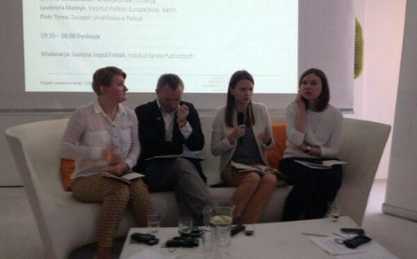#EngagEUkraine: презентация доклада ISP – Варшава, 24.05.2016
