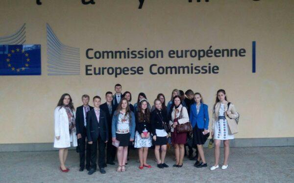 Молодежь из Украины в Брюсселе и Берлине