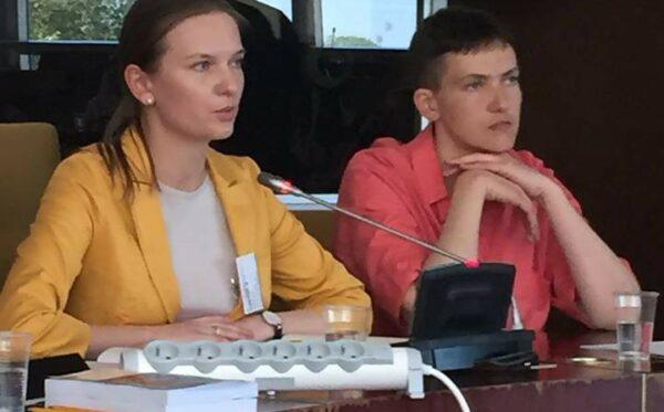 Роль санкций как инструмента для поддержки прав человека в России – дискуссия при участии Надежды Савченко