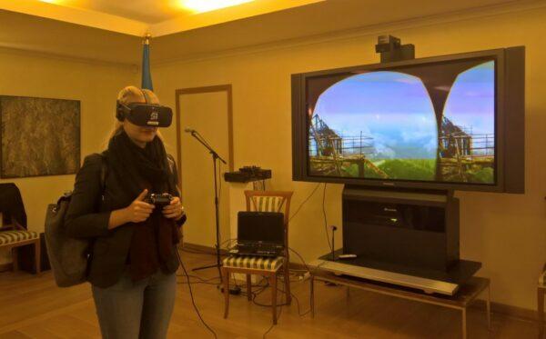 Премьера Chernobyl VR Project в Брюсселе
