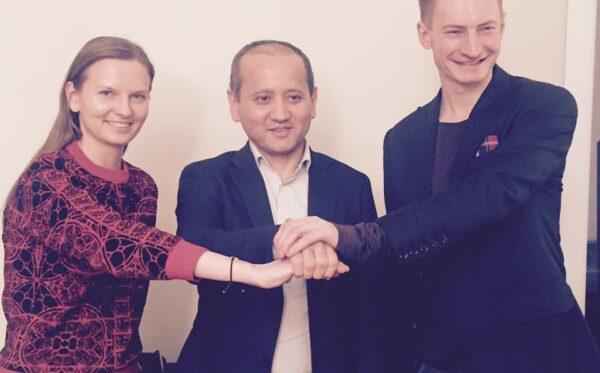 Первая встреча Фундации «Открытый Диалог» с Мухтаром Аблязовым