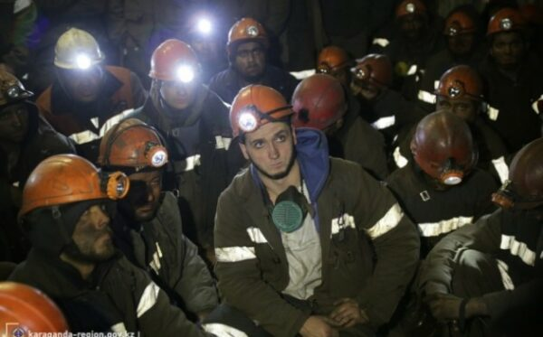 Казахстан: Более 700 шахтеров объявили забастовку