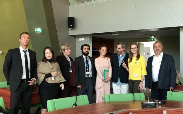 В Страсбурге Фундация «Открытый Диалог» отстаивает независимость прав человека, судебных и гражданских прав