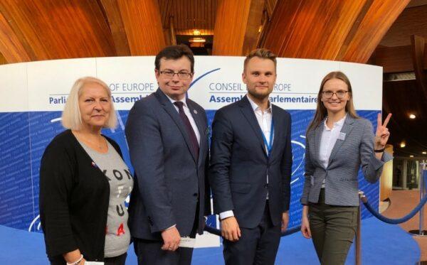 Представители Фундации «Открытый Диалог» посетили четвертое заседание ПАСЕ в Страсбурге