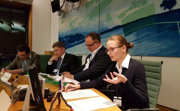 Людмила Козловская выступила в Палате общин Великобритании по вопросу верховенства права в Польше