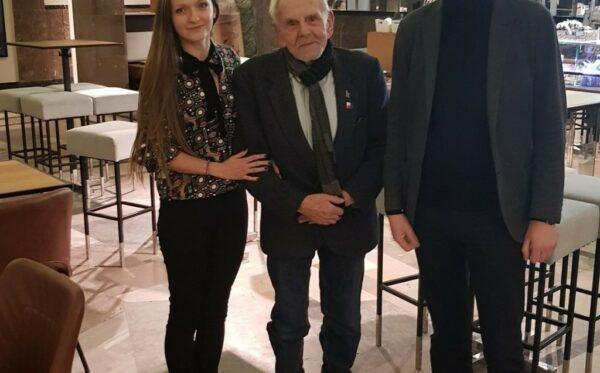 Короткий визит руководителя организации Russie-Libertés Алексиса Прокопьева в Варшаву