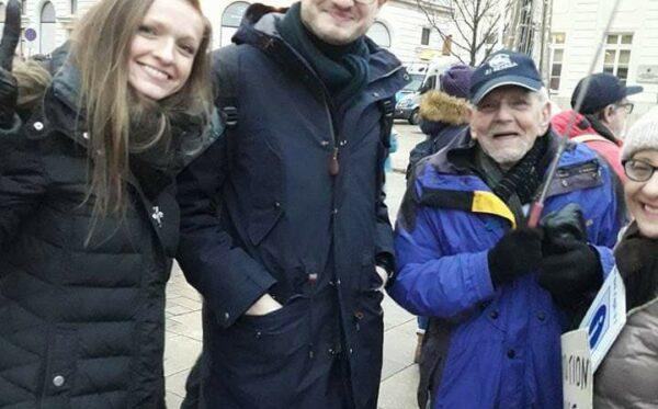 Алексис Прокопьев, соучредитель Russie-Libertés, посетил Варшаву