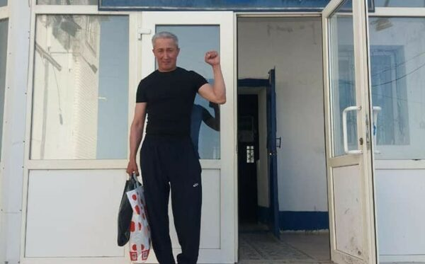 Политический заключенный Абловас Джумаев на свободе!