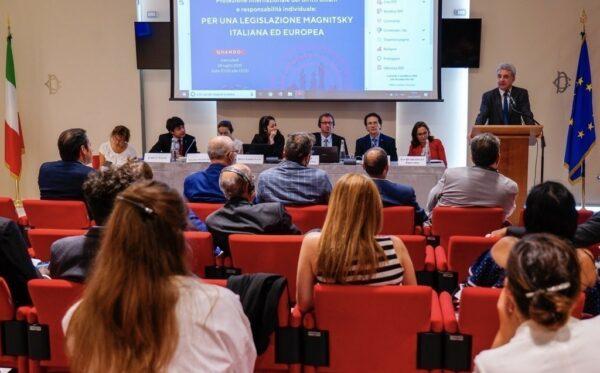 Фундация «Открытый Диалог» и FIDU организовали второй семинар по глобальному Закону Магнитского в итальянском парламенте