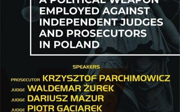 «Риторика ненависти как политическое оружие, направленное против независимых судей и прокуроров в Польше» – мероприятие в рамках ОБСЕ HDIM 2019 в Варшаве