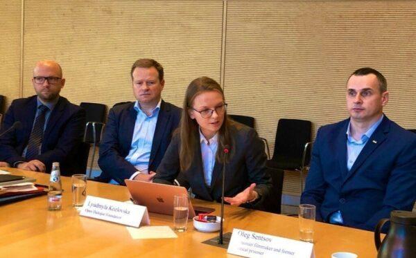 Мероприятие в Бундестаге и встречи в Берлине с участием Олега Сенцова, ЦГС и FIDU