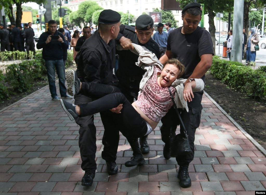 10.06.2019. Алматы. Фото: Reuters