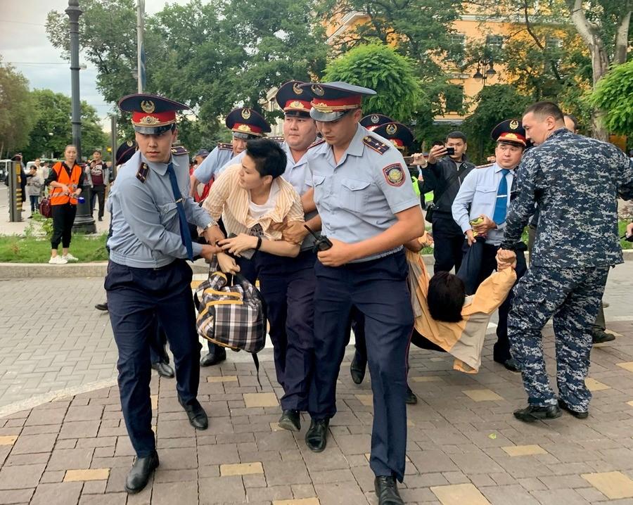 12.06.2019. Алматы. Фото: КМБПЧ