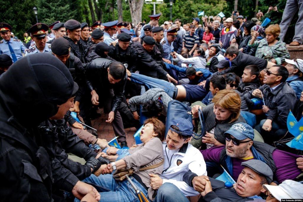 09.06.2019. Алматы. Фото: Петр Троценко (RFE/RL)