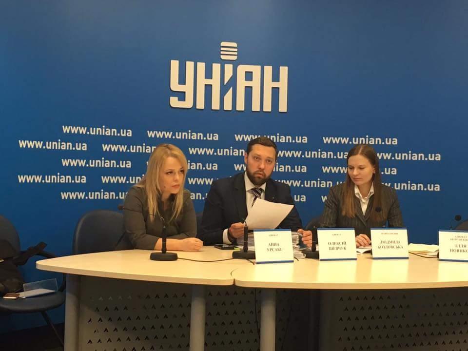 Ana Ursachi, Alexey Shevchuk, Lyudmyla Kozlovska. Photo: Ilya Novikov