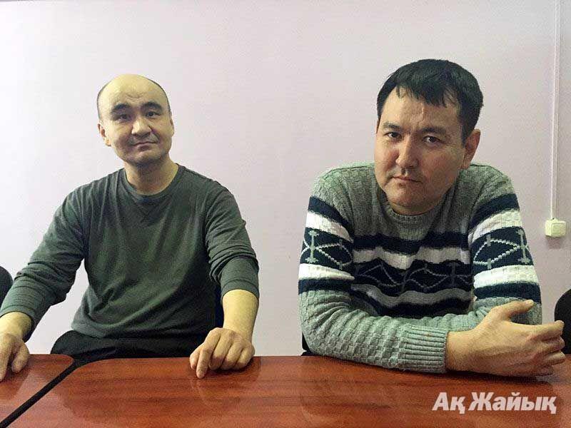 Макс Бокаев и Талгат Аян. Фото: Ак Жайык