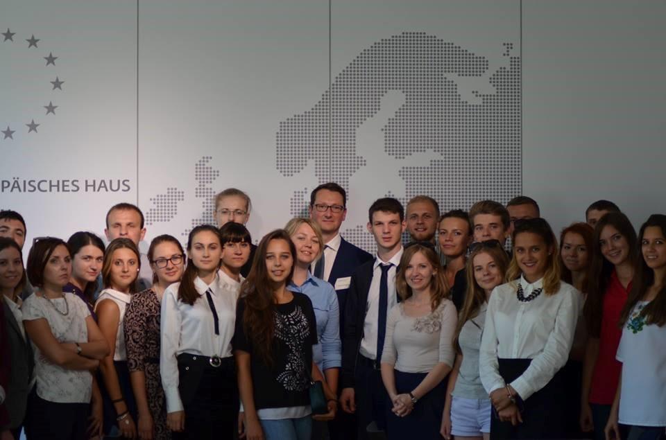 Встреча с Райнгардом Гёниггаузом, руководителем Представительства Европейской Комиссии