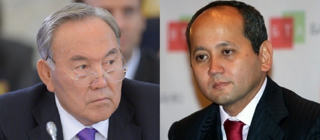 Nursultan Nazarbayev and Mukhtar Ablyazov. Photo: www.jamestown.org and www.tengrinews.kz