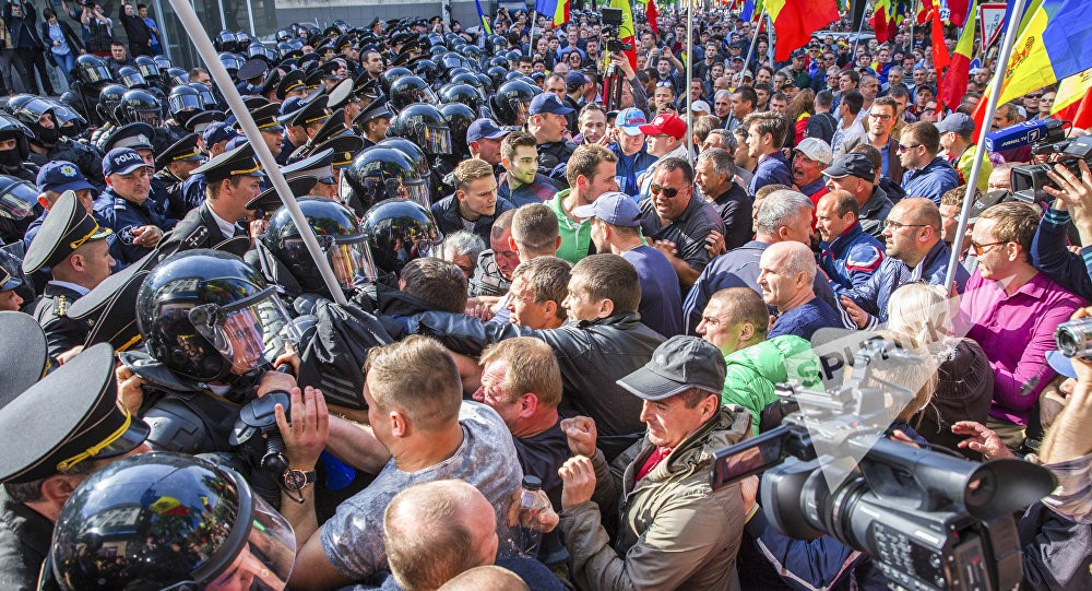 Protests on 24 April. Photo: https://ru.sputnik.md/