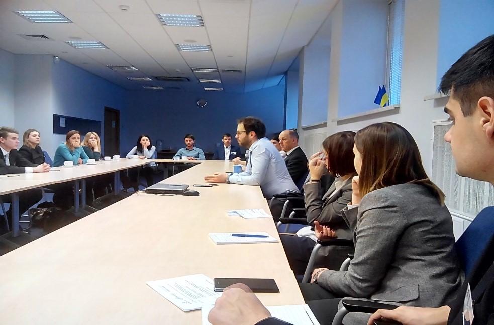 Встреча в Представительстве Европейского Союза в Украине
