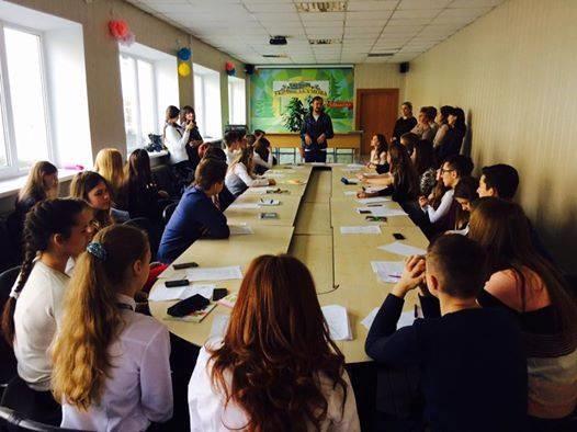 Воркшоп «Моделирование работы Верховной Рады Украины» для школьников, г. Ивано-Франковск
